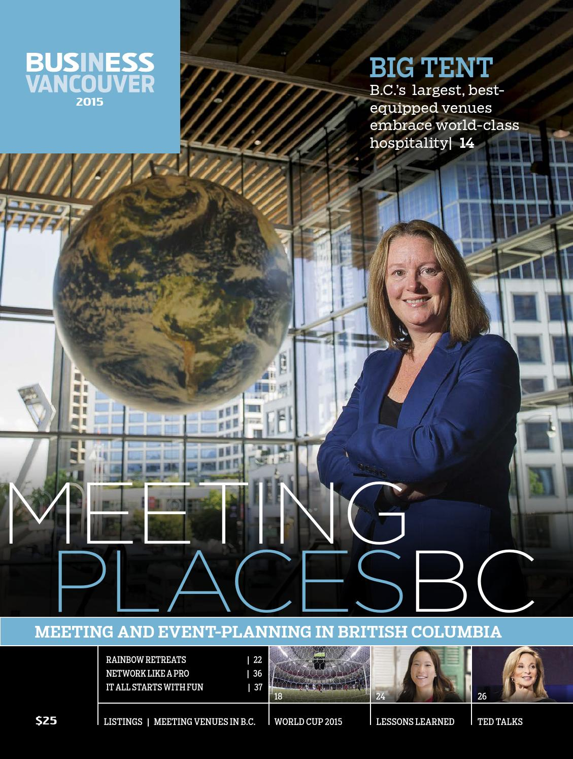 de9cda61b4 Meeting Places British Columbia 2015 by Business in Vancouver Media Group -  issuu