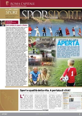 Spqr sport n. 8 2014 by ALFACOMUNICAZIONE - issuu e4ca0c9cdcd