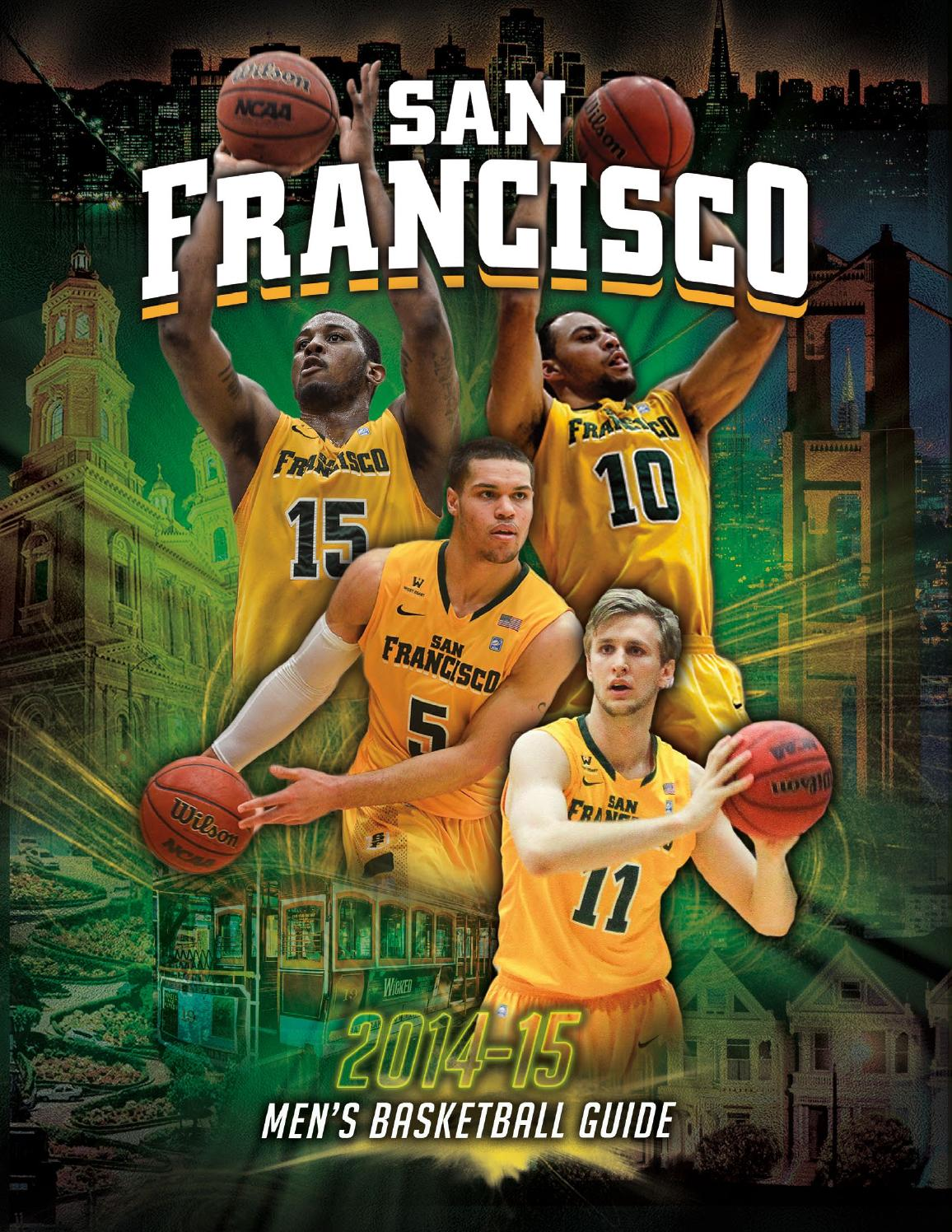 USF 2014-15 Men's Basketball Media Guide by USF Dons - Issuu