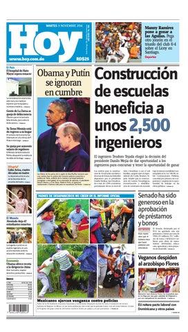 Periodico impreso martes 12 by periodico hoy issuu for Noticias del espectaculo mexicano del dia de hoy