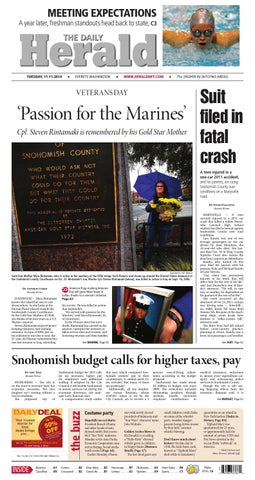 Everett Daily Herald, November 11, 2014 by Sound Publishing - issuu