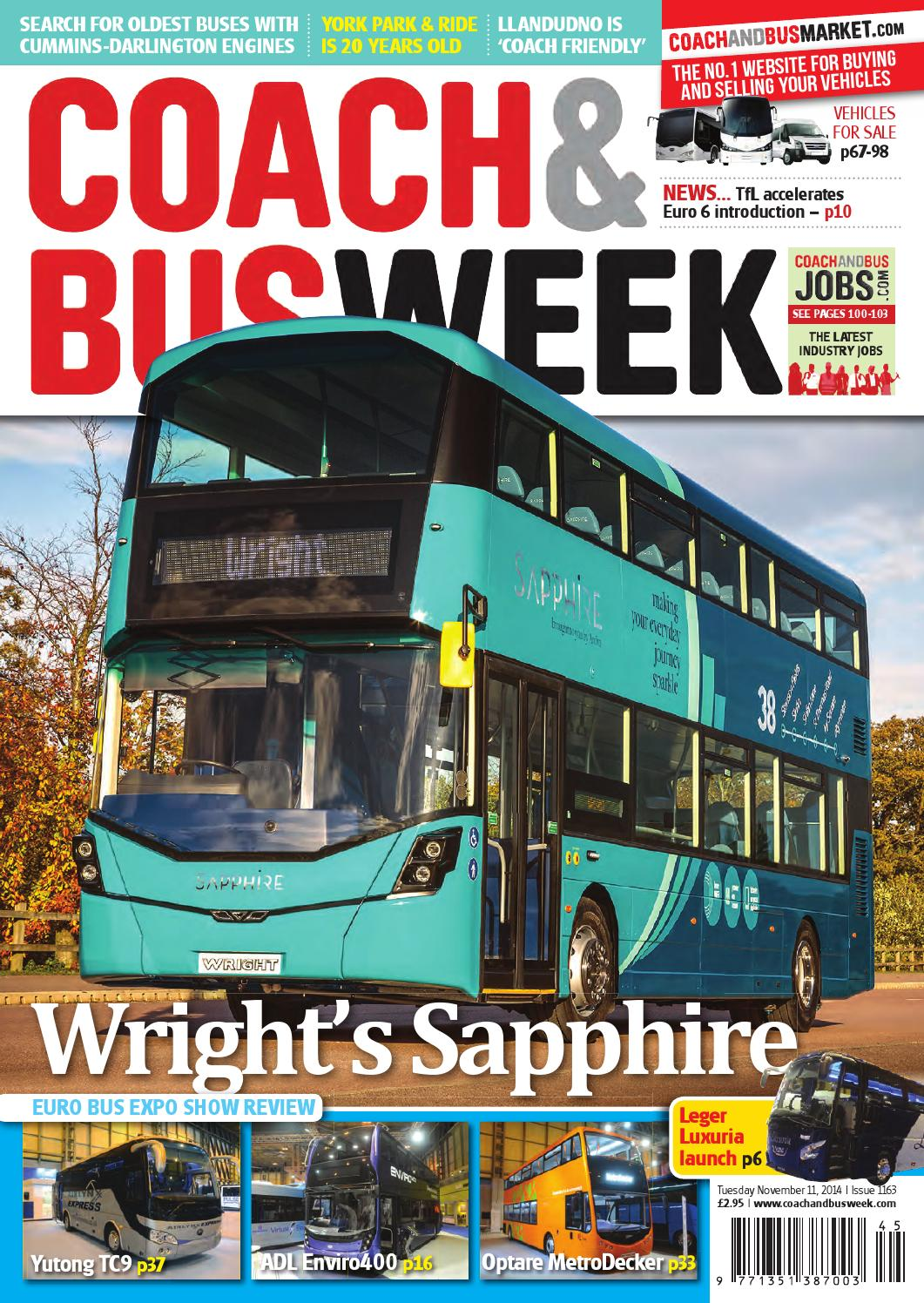 Coach Bus Week Issue 1163 By And Group Travel Volvo B10m Wiring Diagram World Issuu