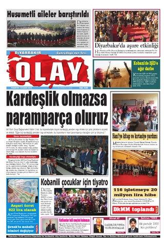 10 11 2014 Gazete Sayfalari By Diyarbakir Olaygazetesi Issuu