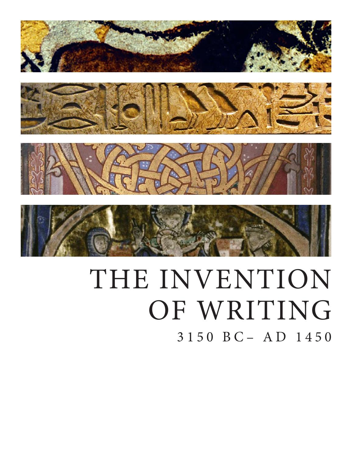 invention of writing The importance of writing in history good historical writing is analytical, precise, accurate and interesting.