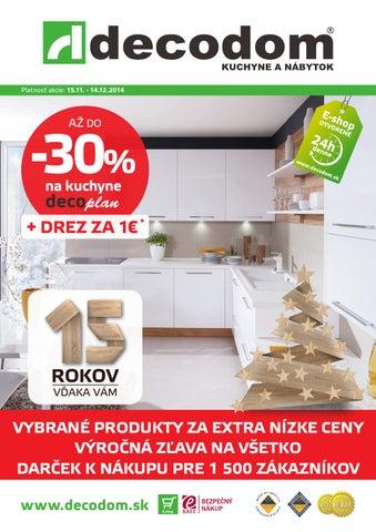b365ba4aa Akcia decodom november-december 2014 by Decodom - Slovenský výrobca ...