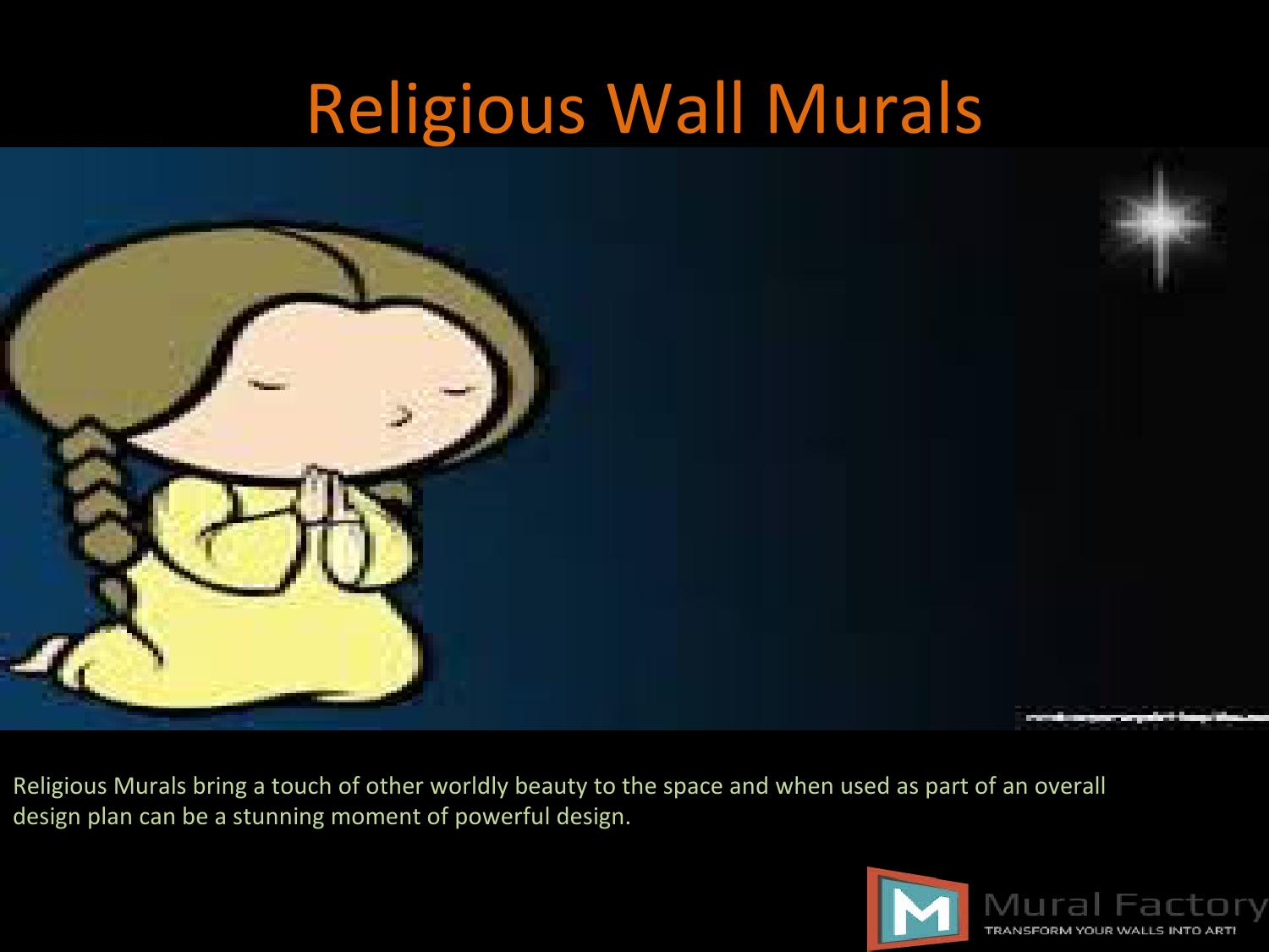 Religious wall murals by mural factory issuu for Church wall mural