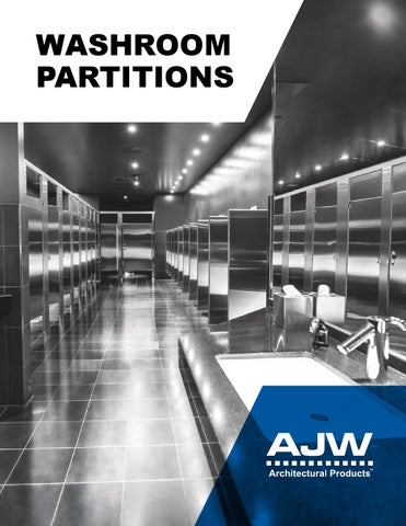 ajw washroom partitionstom butler - issuu