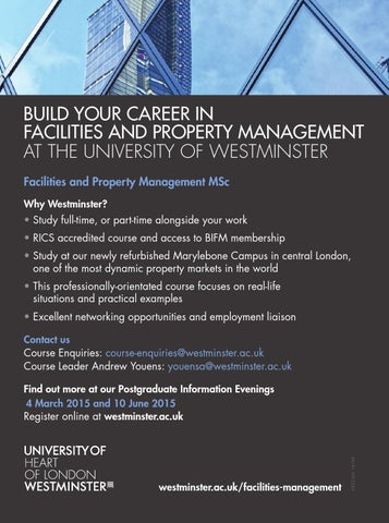 Fm World 2015 Guide To Careers In Facilities Management By Redactive