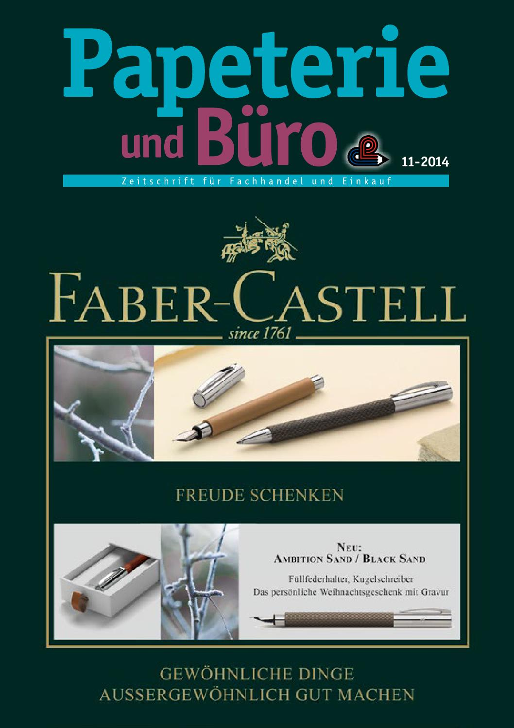 Papeterie & Büro November 2014 by Papeterie & Büro - issuu