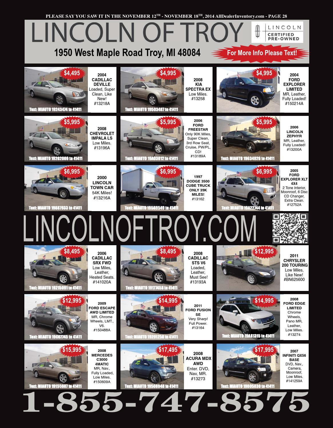 All Dealer Inventory 39 S November 12th Issue By All Dealer