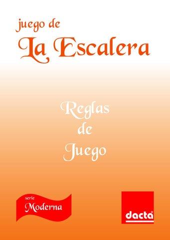Juego De La Escalera Reglas De Juego By Dacta Issuu