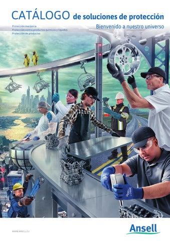 Alimentario Ansell Alphatec 37-675 Guantes de Nitrilo Resistentes a Productos Qu/ímicos Sectores Industrial Tama/ño 6 Qu/ímico verde 12 Pares
