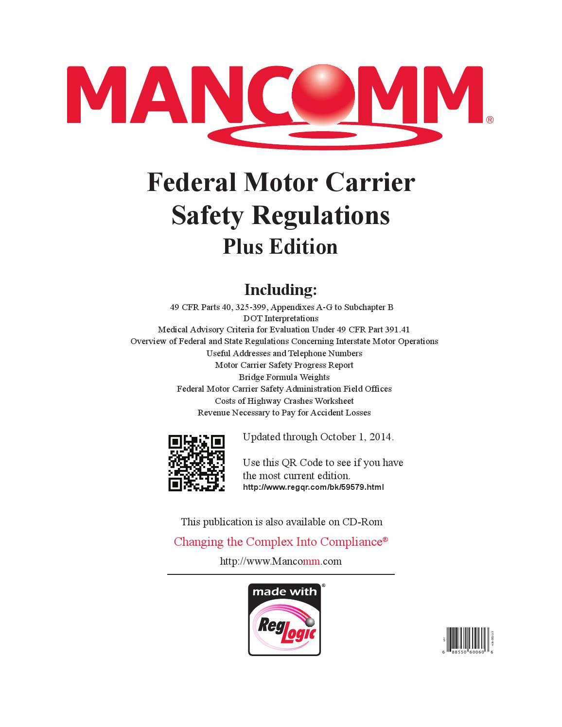 Section 391 of the federal motor carrier safety for Federal motor carrier safety