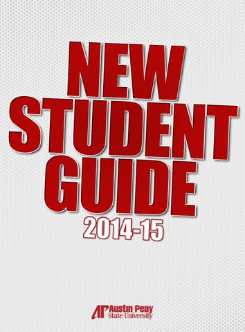 145338986 2014-15 New Student Guide (Austin Peay State University) by APSU ...