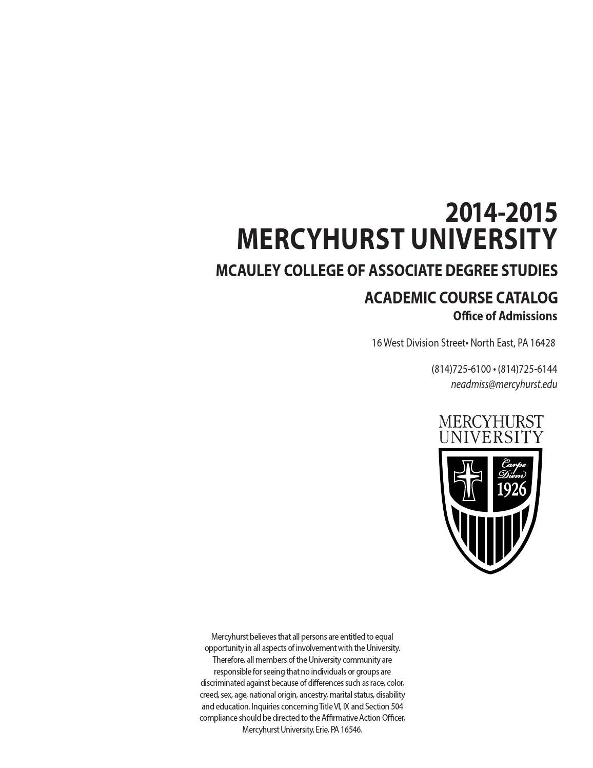 Mercyhurst north east course catalog 14 15 by mercyhurst mercyhurst north east course catalog 14 15 by mercyhurst university issuu xflitez Gallery