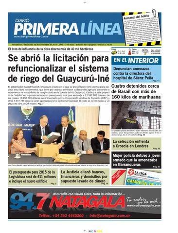 Primera Línea 4323 12 11 14 by Diario Primera Linea - issuu 2ab1adda3341