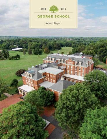 George School Annual Report 2013 2014 By Susan Quinn Issuu