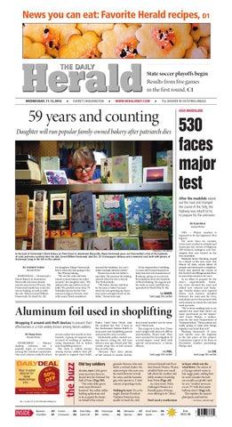 Everett Daily Herald November 12 2014 By Sound Publishing Issuu