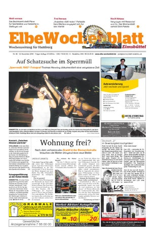 Eimsbüttel Kw46 2014 By Elbe Wochenblatt Verlagsgesellschaft Mbh