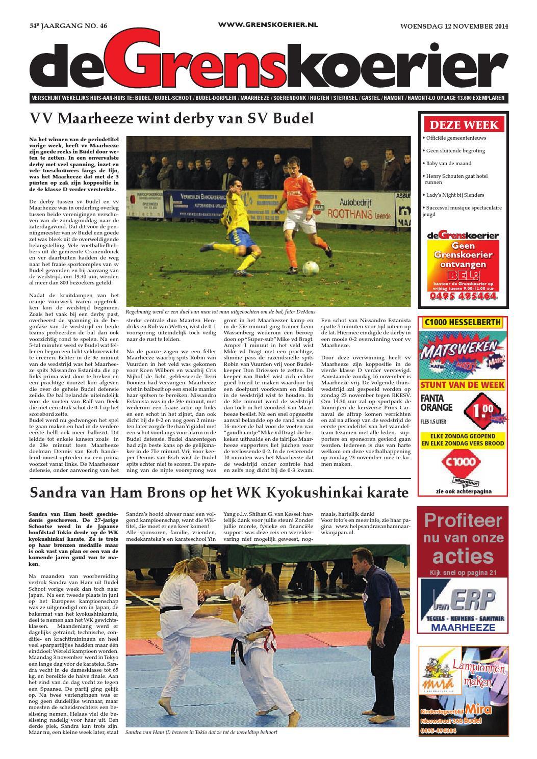 Grenskoerier week 46 2014 by De Grenskoerier - issuu