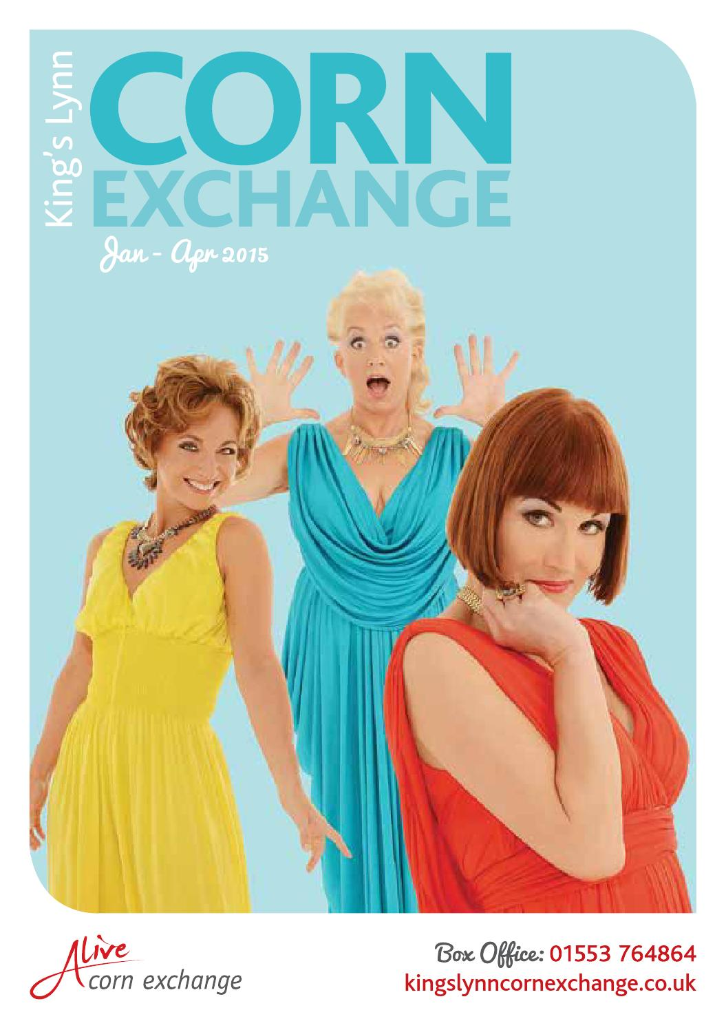 King 39 S Lynn Corn Exchange Brochure 2015 By Alive Leisure Issuu