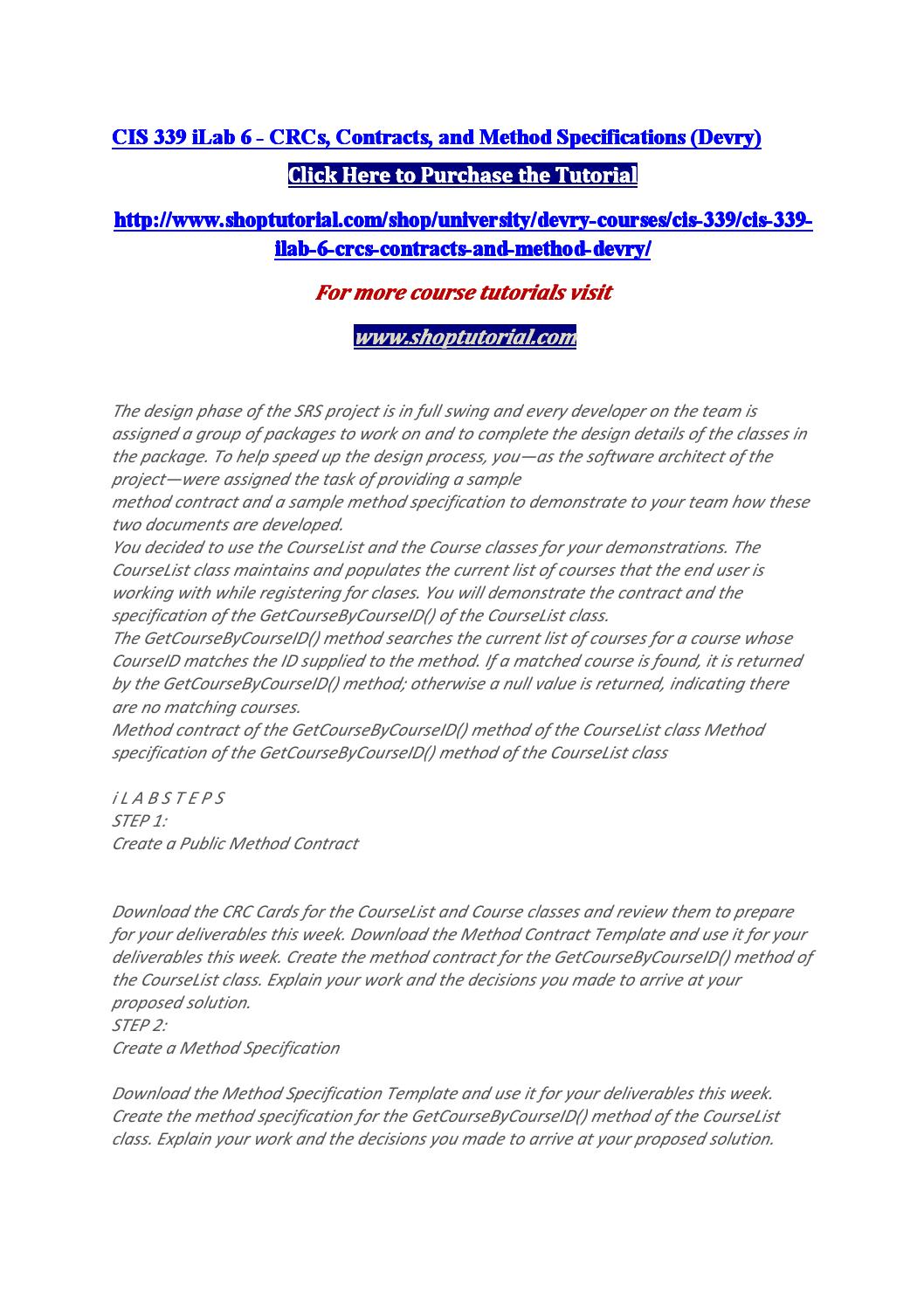Cis 339 ilab 6 by AvaA bigail - issuu