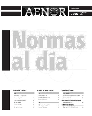 Normas al Día 296 by Revista AENOR - issuu 0292ed1dcca2