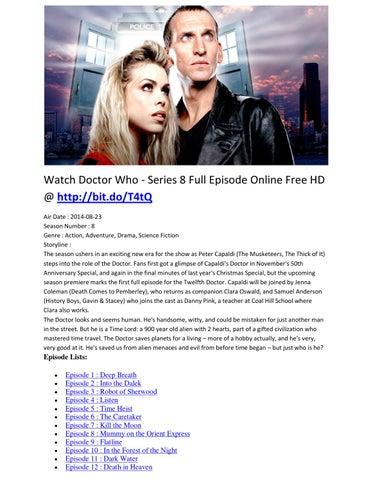 Watch Doctor Who Series  Full Episode Online Free Hd Bit Do Ttq Air Date  Season Number  Genre Action Adventure Drama