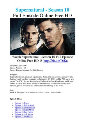 supernatural season 6 episode 3 movie2k