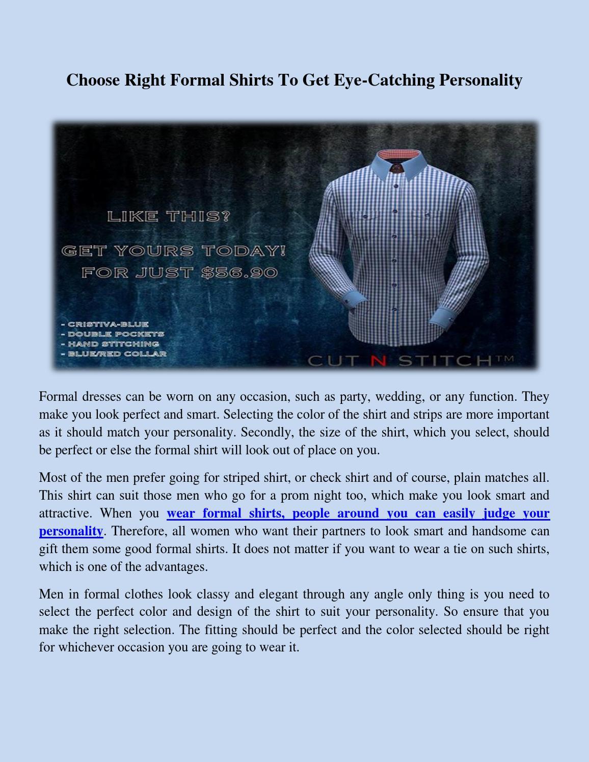 572cd8a52ef Choosing The Right Size Dress Shirt   Azərbaycan Dillər Universiteti