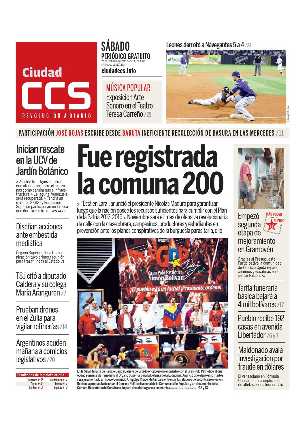 26/10/13 by Ciudad CCS - issuu