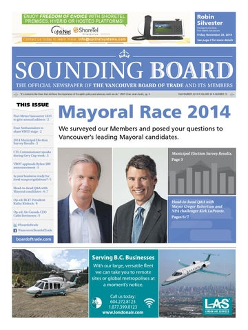40b9d8bf2ab Sounding Board – November 2014 by Business in Vancouver Media Group ...