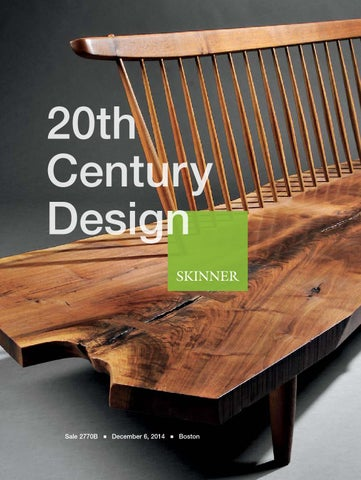 Superb 20Th Century Design Skinner Auction 2770B By Skinner Inc Machost Co Dining Chair Design Ideas Machostcouk