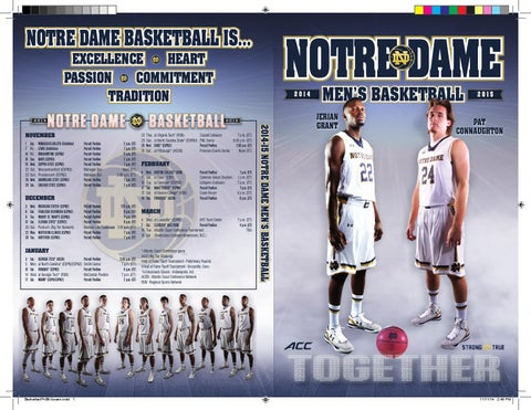 378c57cfe0fb 2014 15 men s basketball media guide by Chris Masters - issuu
