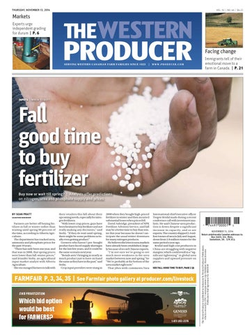 42a9343680c 20141113 by The Western Producer - issuu