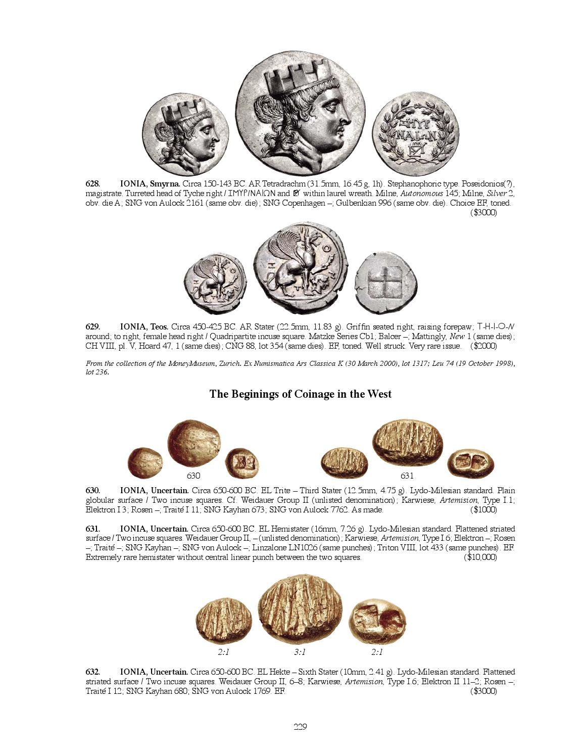 CNG Triton XVIII Sessions 1 & 2 by Classical Numismatic