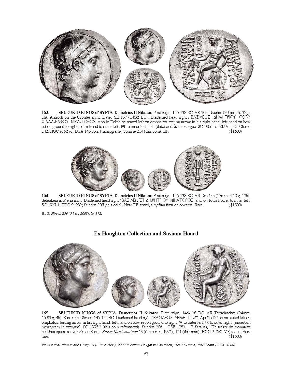 Cng Triton Xviii Sessions 1 2 By Classical Numismatic