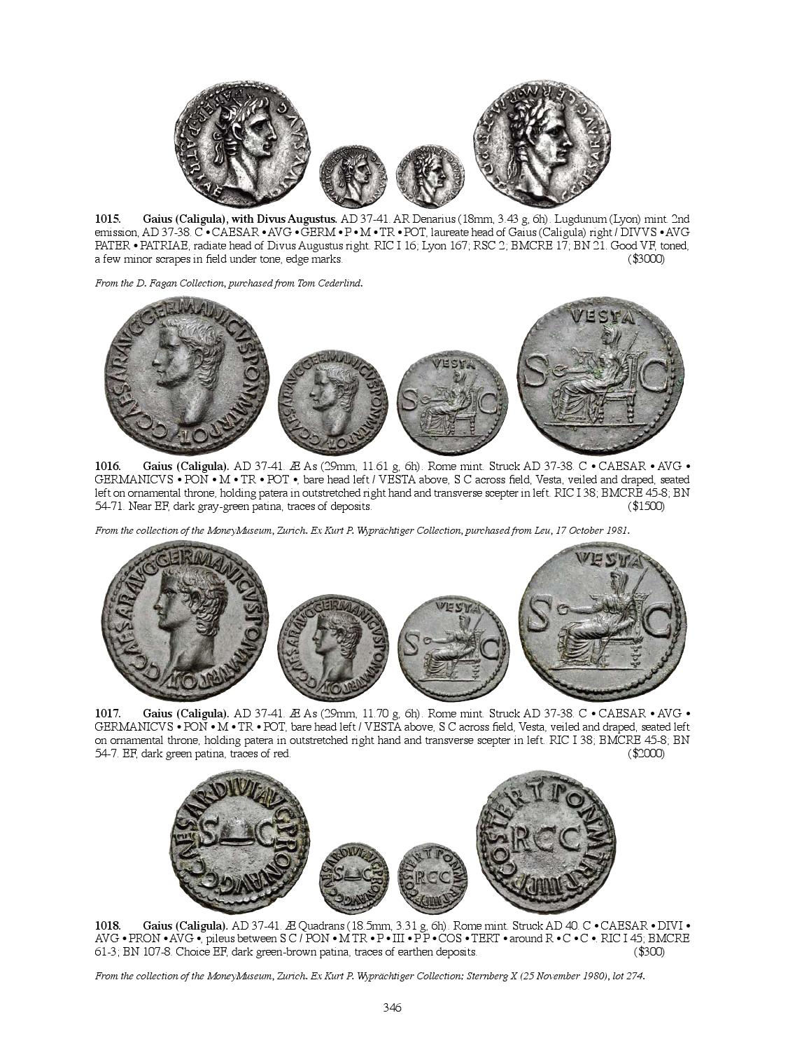 CNG Triton XVIII Sessions 3 & 4 by Classical Numismatic