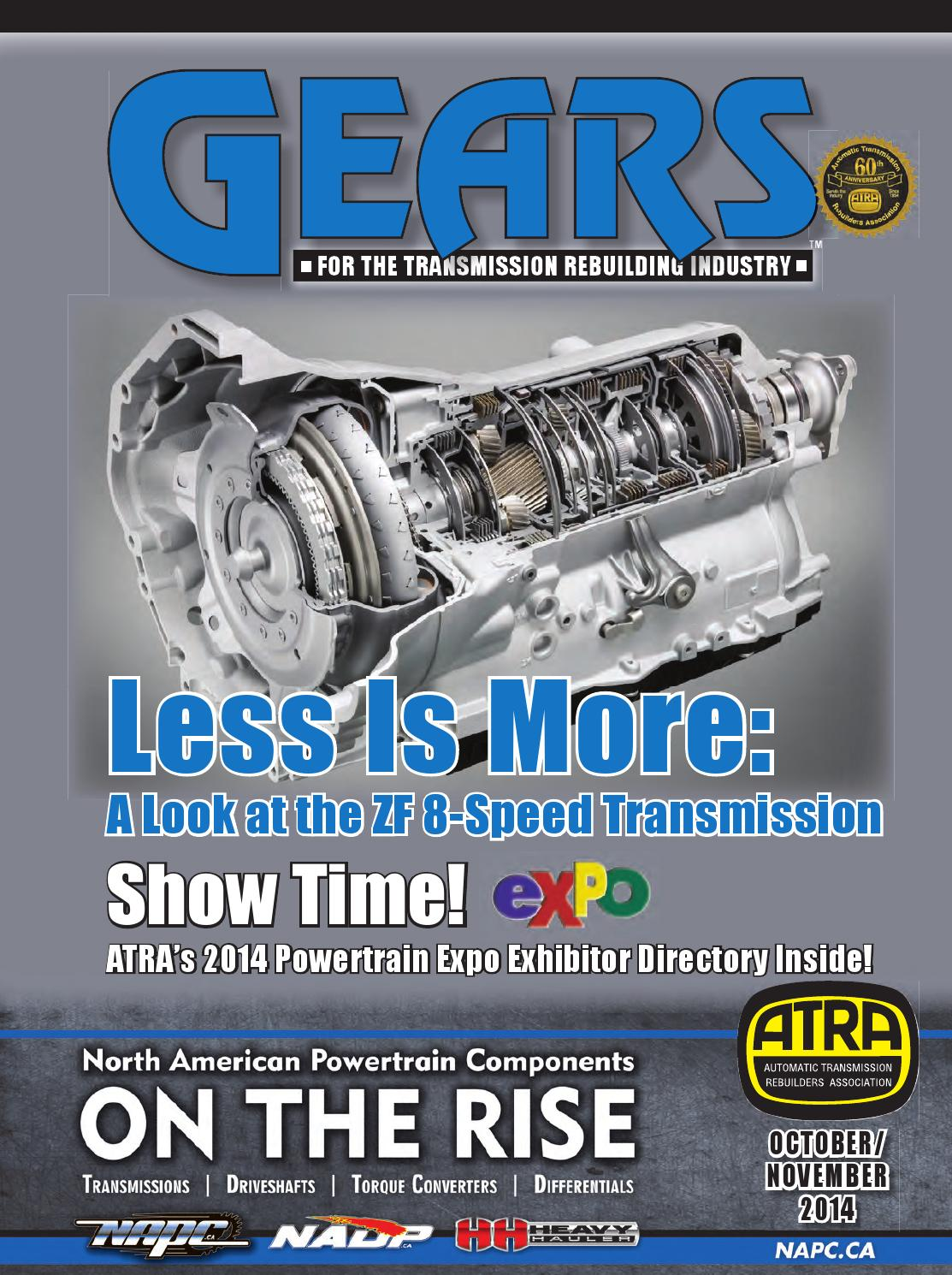 Gears Magazine Oct Nov 2014 By Diane Bland Issuu 4r100 Wiring Harness Clip