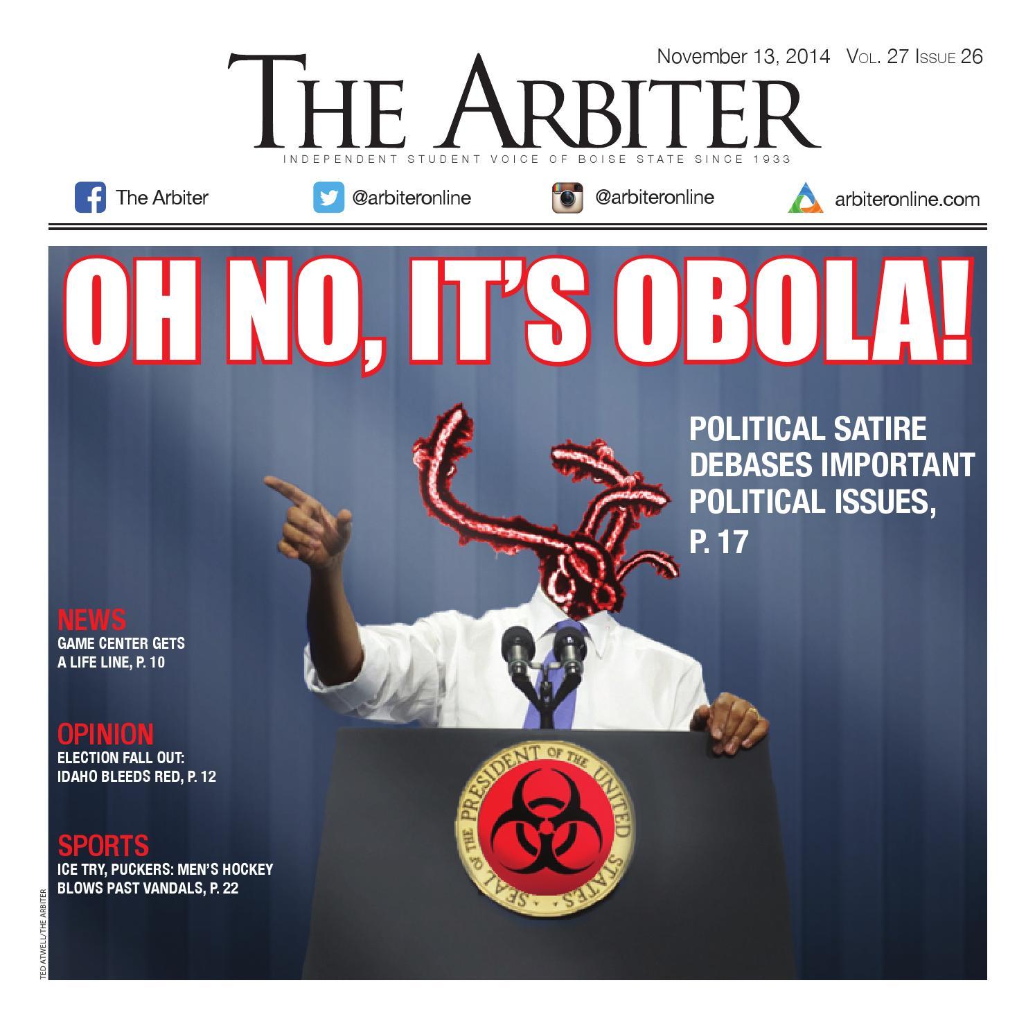 The Arbiter 11.13.2014 by The Arbiter at Boise State ...