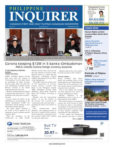 Philippine Canadian Inquirer Issue #14 by Philippine