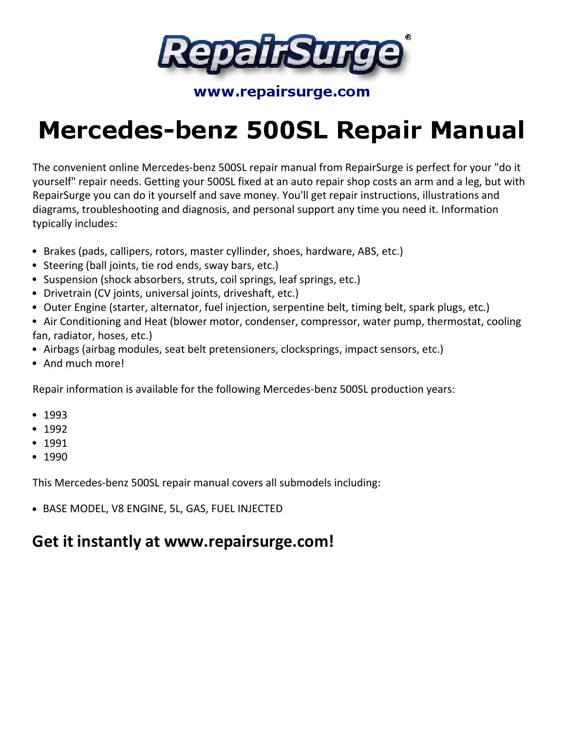 1991 mercedes 500sl engine diagrams trusted wiring diagram rh dafpods co