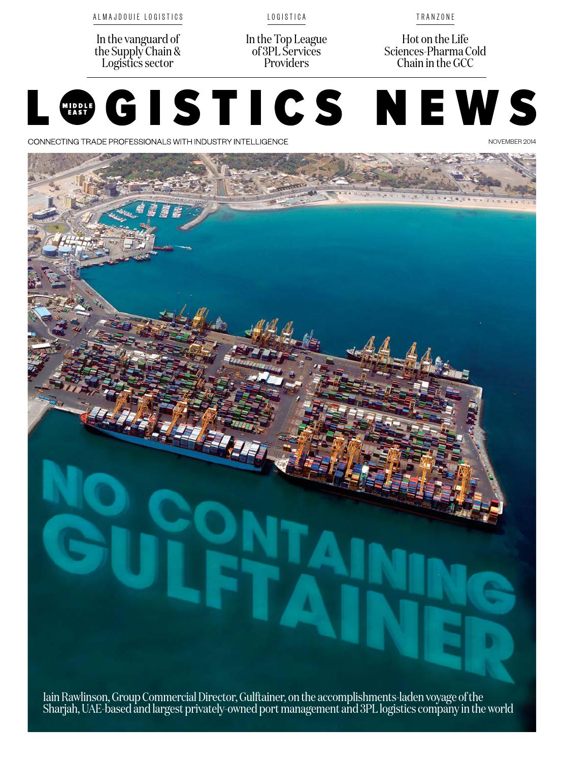 Logistics News Middle East by BNC Publishing - issuu