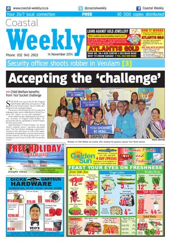 Coastal weekly 13 nov 2014 by Coastal Weekly - issuu