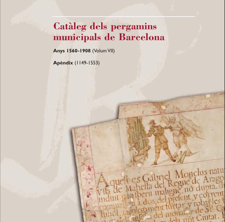 Catàleg dels pergamins municipals de Barcelona. Anys 21 21 ...