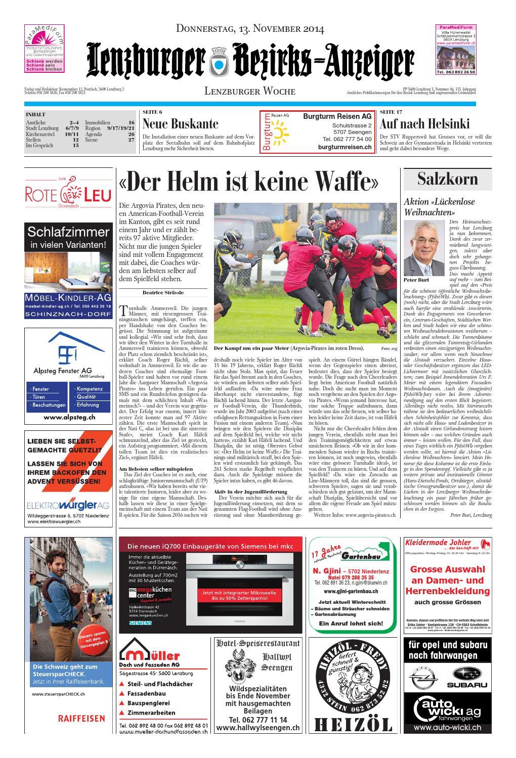 20141113 woz lbaanz by AZ-Anzeiger - issuu