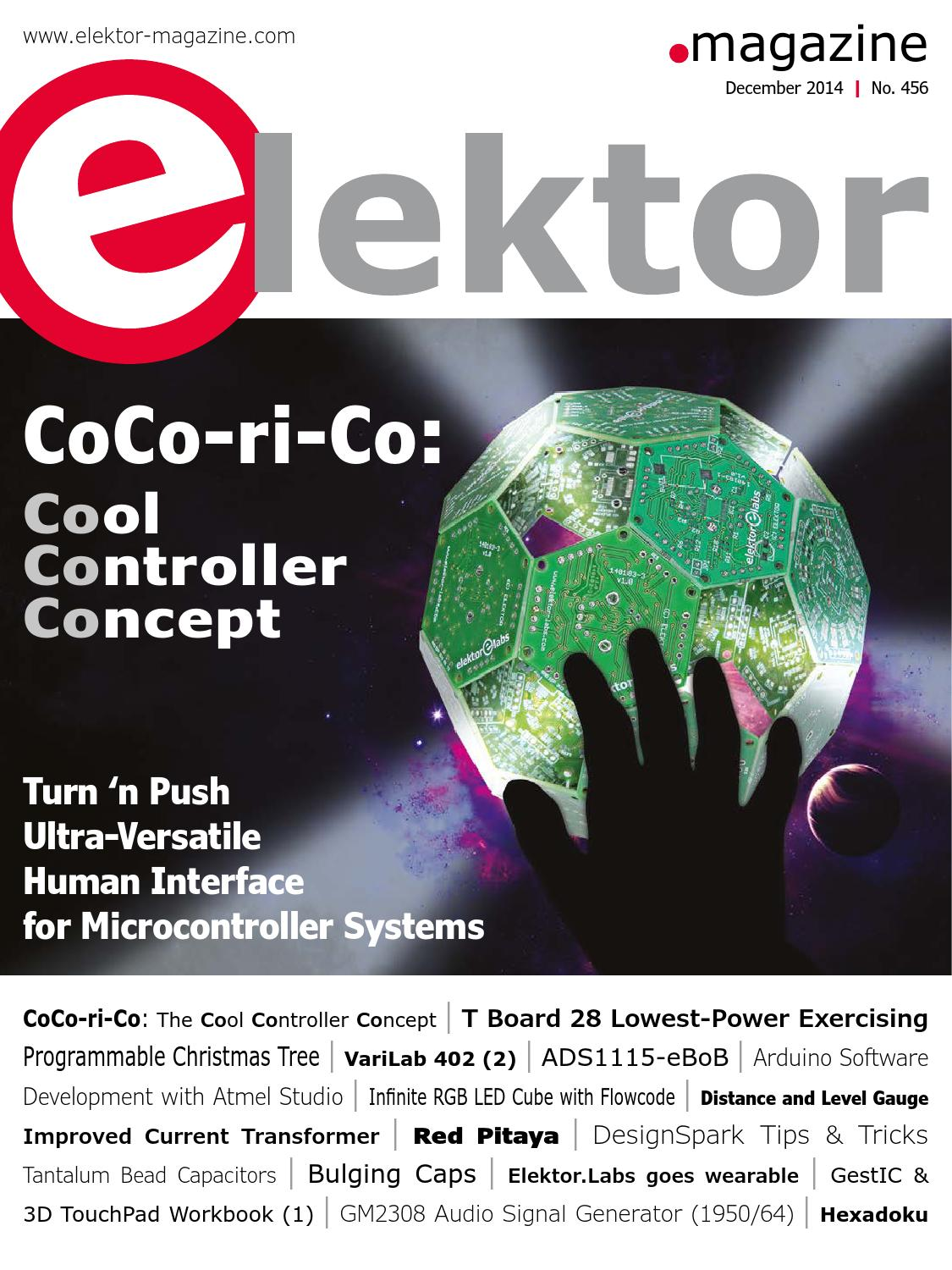 Elektor December 2014 By Issuu Attractive Lighting Circuit Using 40 Led39s