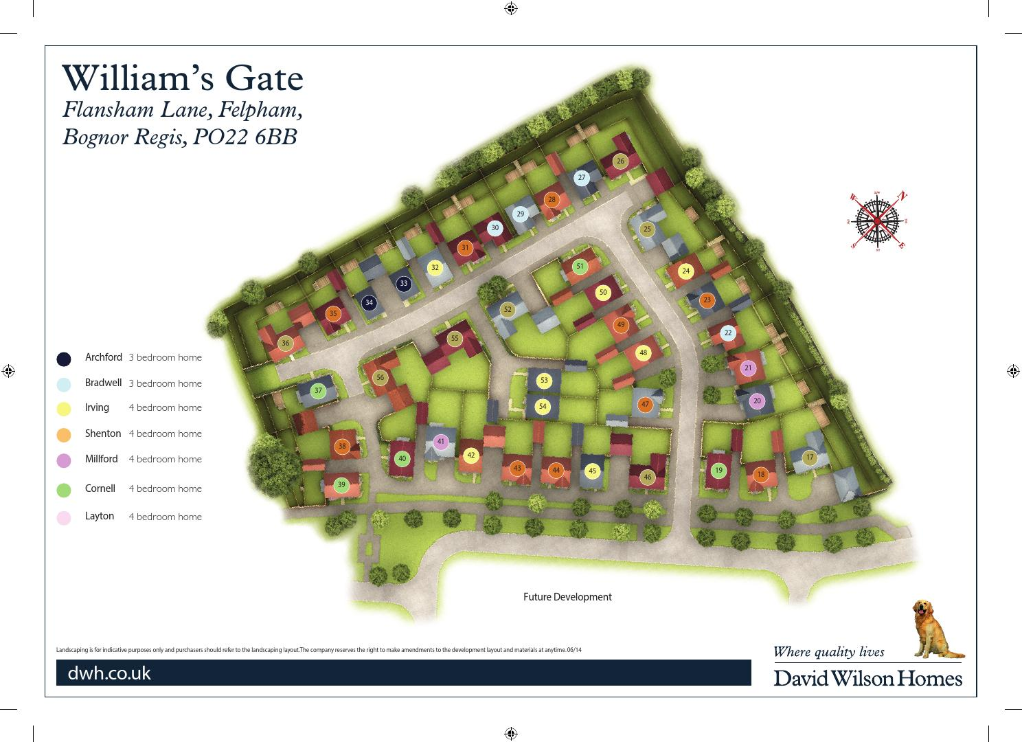 David Wilson Williams Gate By Newhomesforsale Co Uk Issuu