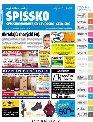 Spissko c. 46 2014 by spissko spissko - issuu c35ef114438