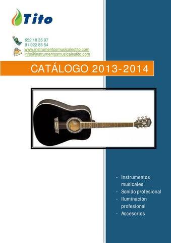 62da29e13e8a Catálogo a by Instrumentos Musicales Tito - issuu
